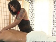 DevilsFilm Asian Masseuse Squirts for Client