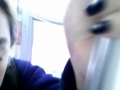Bus Cam 11: Shy Asian Downblouse