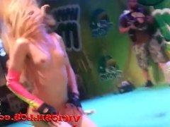 Chiqui Dulce pole dance show in SEM