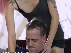 Stud in heat drills that tranny asshole without any remorse