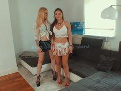 MyDirtyHobby - Lucy Cat deep double anal maid FFM