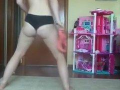White Girls Twerk Naked