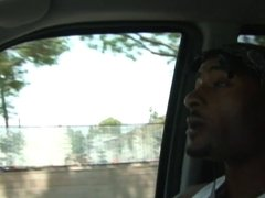 Curvy cougar moans with peasure while black stud fucks her