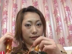 Petite Milf Japanese pleasure