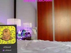 My boob webcam show 28 My Snapchat Boob9x