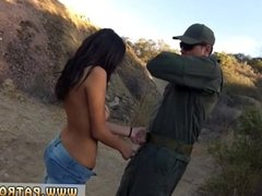 Police tied first time Pretty latin woman