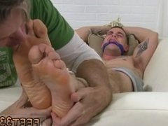 Gay grandpa shows his feet hot young boy