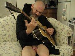 return of Ameer777 naked punk musician