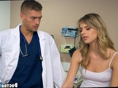 Teen Babe gets a Pussy Exam
