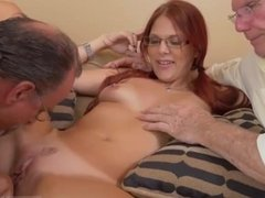 French old young and horny mature couple