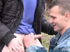 Men stripping outdoors and old sucking gay