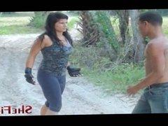 Now Its A Fight - Mikaela vs Barack - Shefights.org