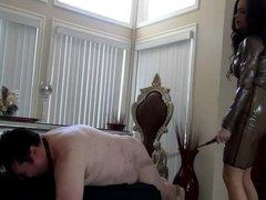 Princess Carmela - Brutally Caning Your Ass