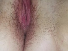 Playing with herself and cumming