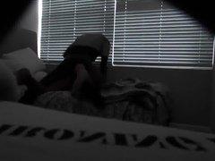 hidden web cam black top breeding white bottom