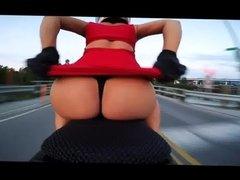 motorcycle thong slip
