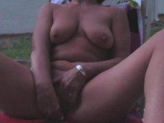 Masturbating at Dusk