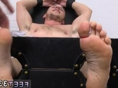 Deep male foot gay first time Kenny Tickled