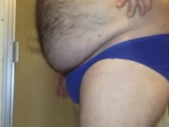 z Me in My Blue  St Eve Cotton Panties