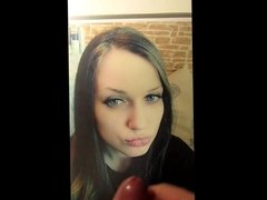 Cumtribute for kissingcock