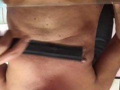 Nipple spanking 2