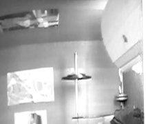 Teen  Football  player caught on  hidden  cam