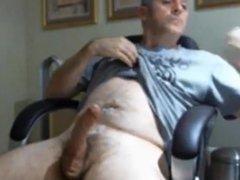 Hot sesy daddy jerking off