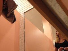 Skinny Teen Babe Inside Dressing Room