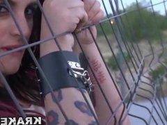 Krakenhot - Street Hooker BDSM lover in a homemade x video.