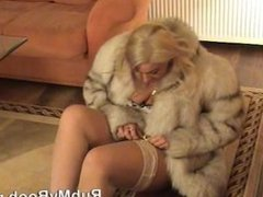 Tiffany in fur coat 1