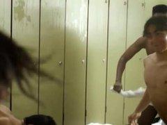 hot shower scene