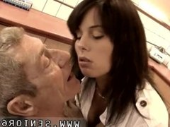 Ebony and young girl fuck old women first time After some short test the