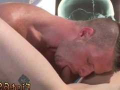 Gay porn sex shitting Axel Abysse gets naked and raises his legs up on