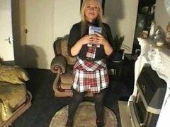 schoolgirl facesitting 1