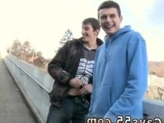 Straight gay man wanking outdoor and free men shooting cum in public Anal