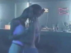 Lesbian Leather Dancing & Kissing 2