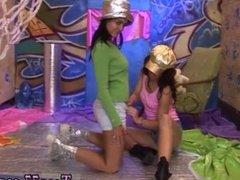 Tight asian teen fucks big cock Hairy Kim and bald Janet