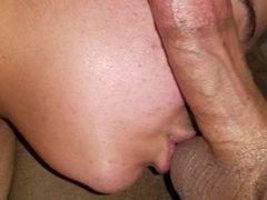 Deepthroat and ball sucking
