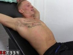 Asian male feet gay Cristian Tickled In The Tickle Chair