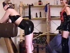 UK lesbian milf mistress training slave part 2