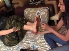 Hazel Training Tanya How to Tickle