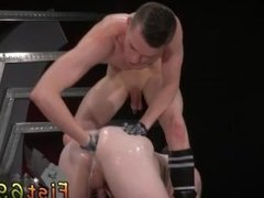 Guy fists and jacks off inside guys ass and boy fisted by old gay In an