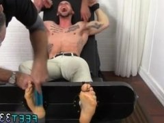 Men jacking on feet gay KC Gets Tied Up & Revenge Tickled