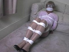 Poor Bettie hand gagged and fondled by Otto Devoid