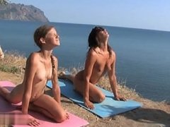 Nudist Family Yoga 1a