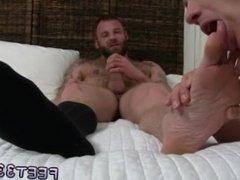 Male gay sex massage movieture Derek Parker's Socks and Feet Worshiped