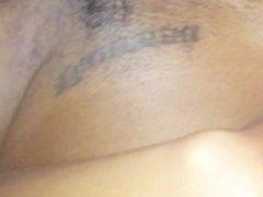 Ebony College Girlfriend Moans Like a Slut
