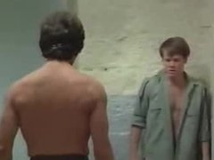 in shower prison