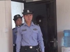 chinese girls handcuffed and arrested 2