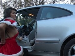Hot Teen Love Creampie & Squirt On Public Parking by Vic Alouqua